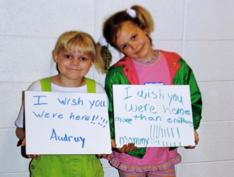 Audrey Edmunds missed the childhoods of her daughters